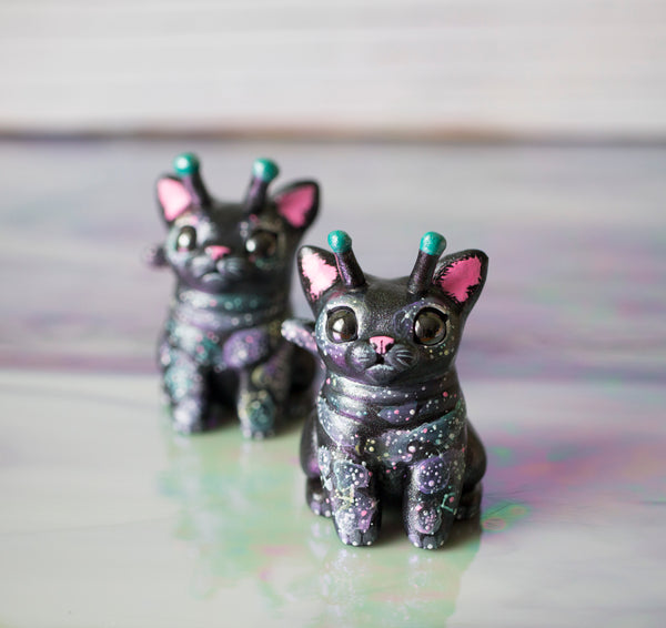 Space Cat Figurine