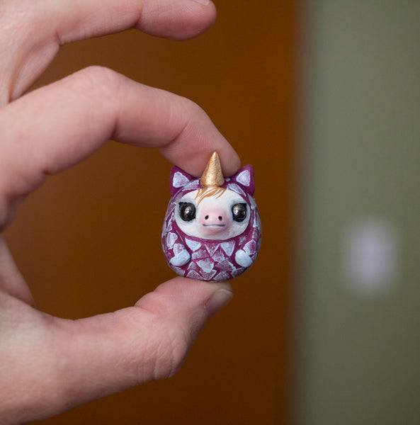 Unibubble Unicorn figurine