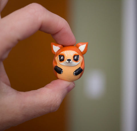 Bubblefox Fox figurine