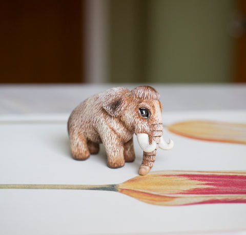 Woolly Mammoth Figurine