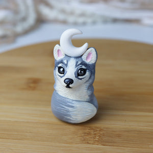 Light Husky Figurine