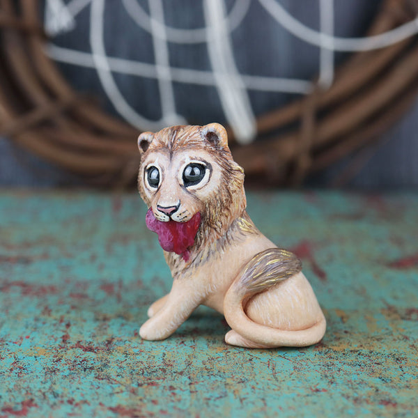 Wild Love Lion Figurine