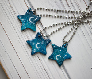 Starry Night Star Necklace