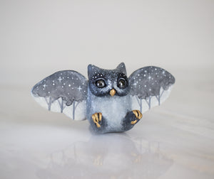 Starry Trees Owl Figurine