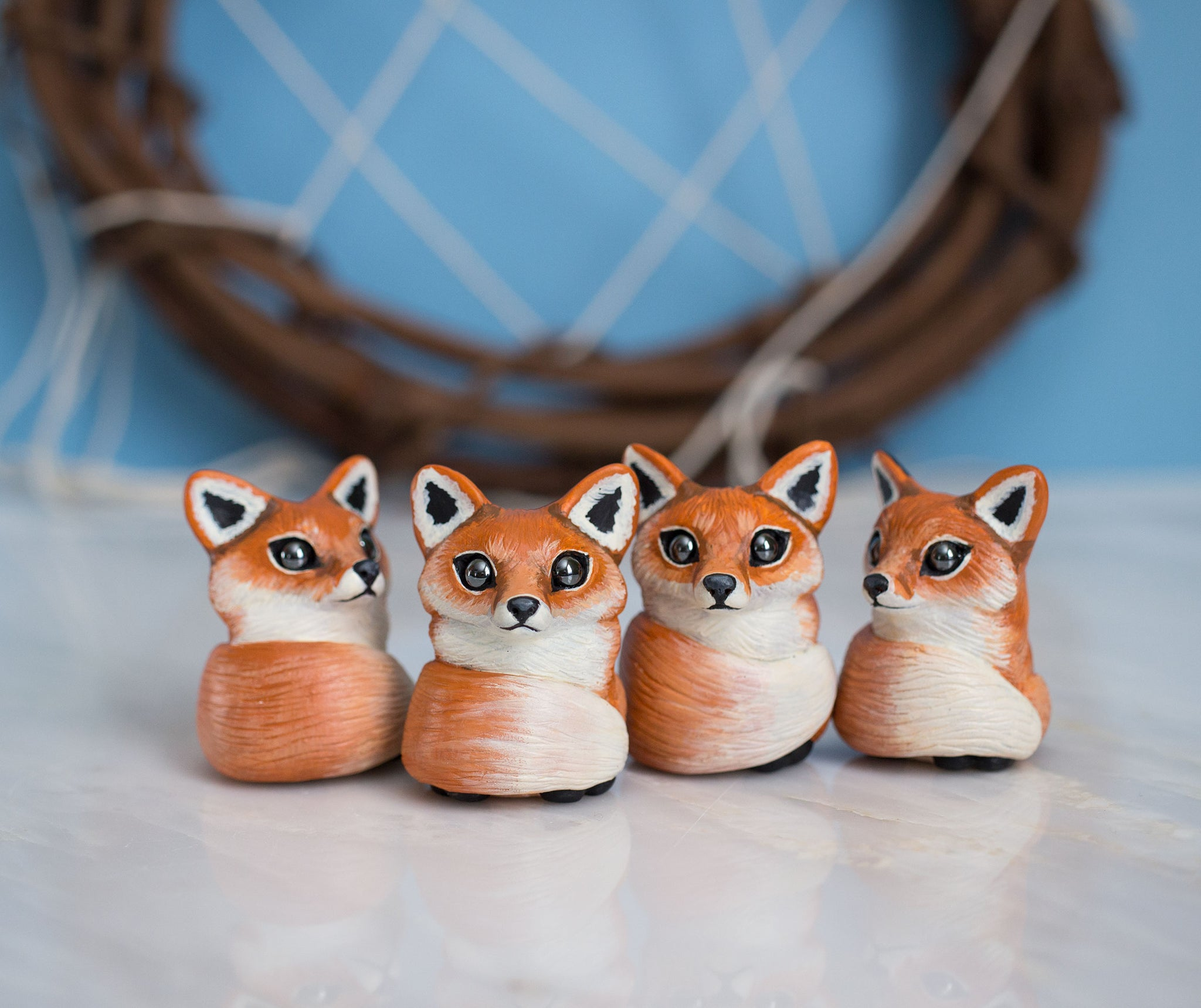 Cozy Fox Figurine