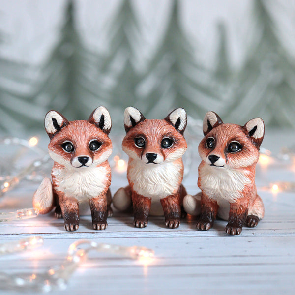 Fox Pup Figurine