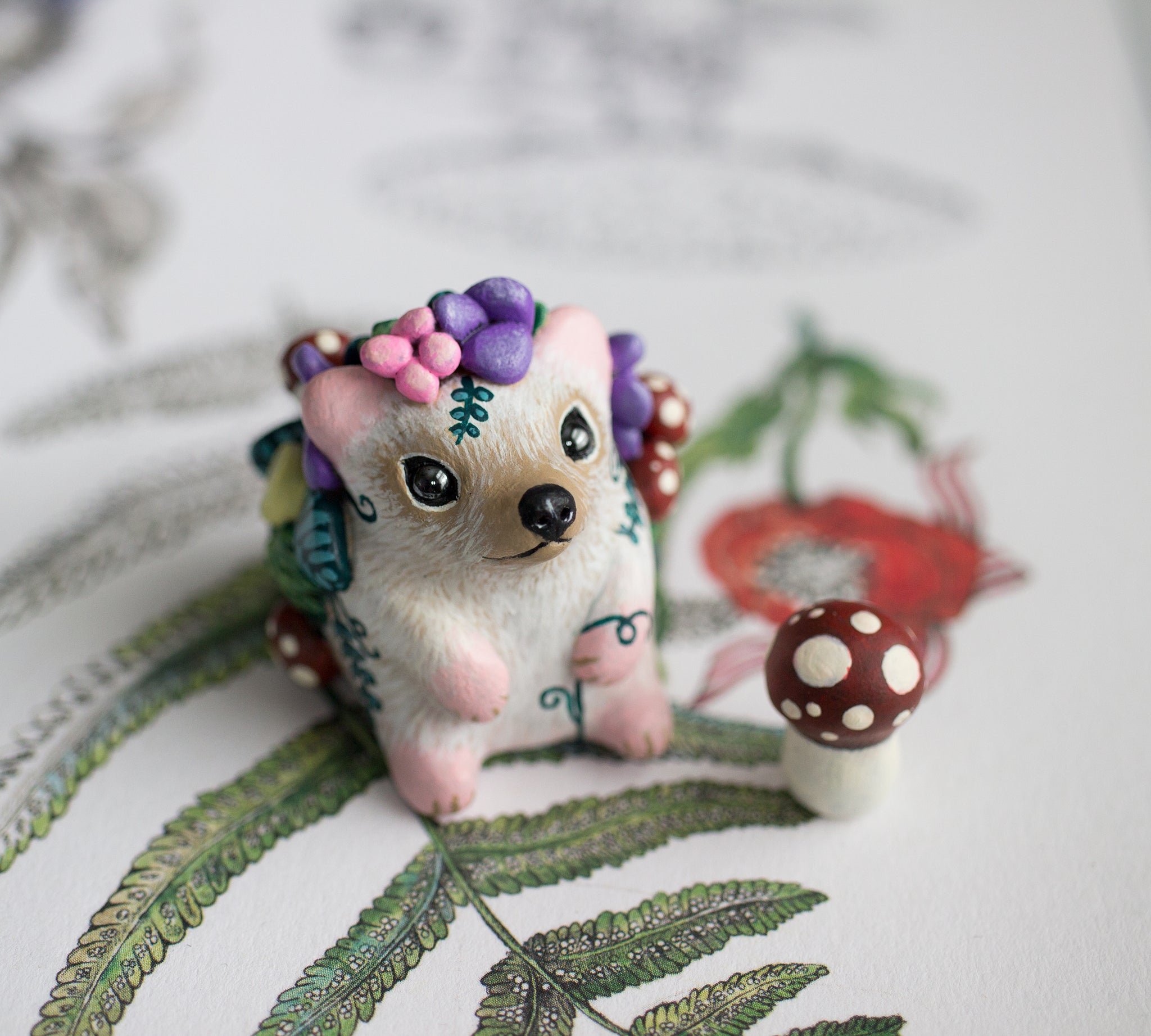 Garden Hedgehog figurine