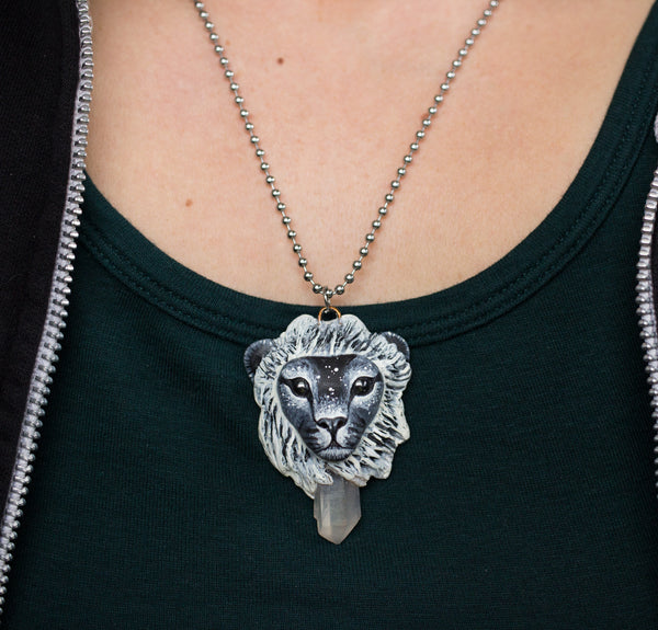 Black Lion Pendant