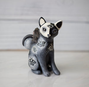 Duality Cat Figurine