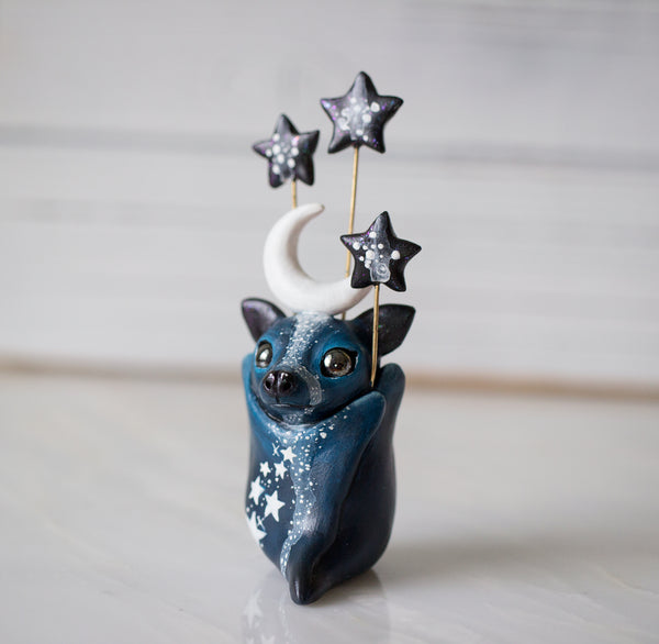 Starry Bat Figurine