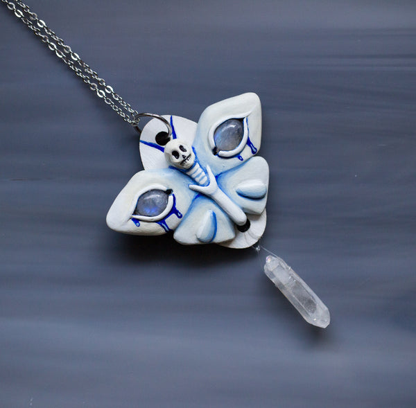 Ghost Moth Necklace