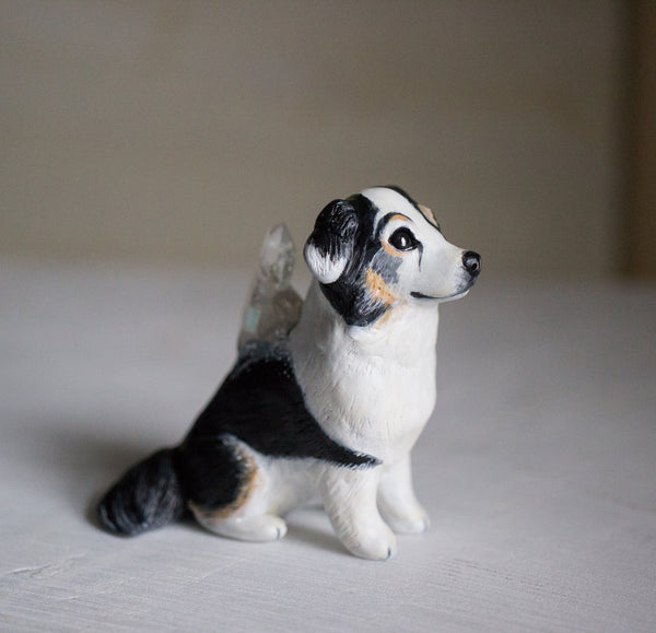 RESERVED Custom Dog Figurine