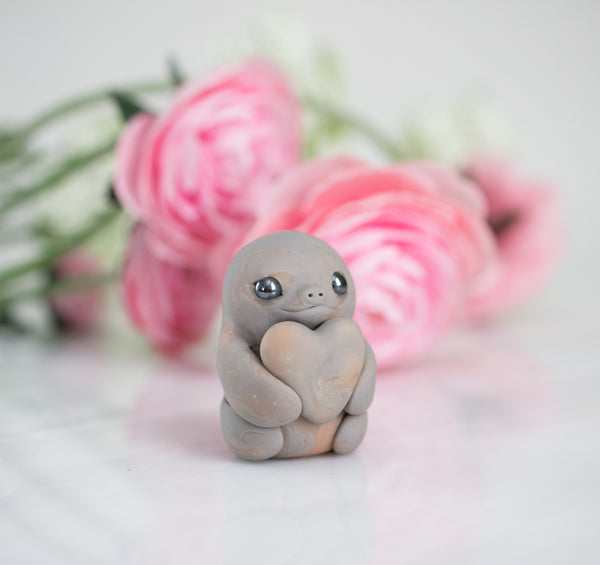 Custom Painted Sloth Figurine