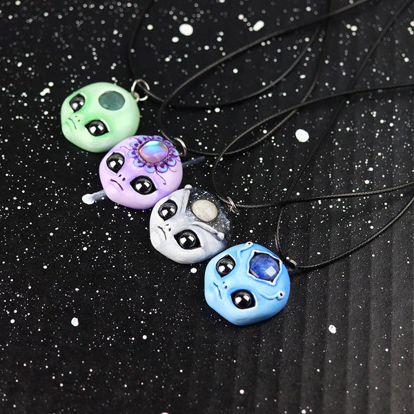 Aura Alien Necklace
