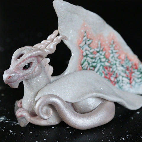 Diamond Dragon Figurine
