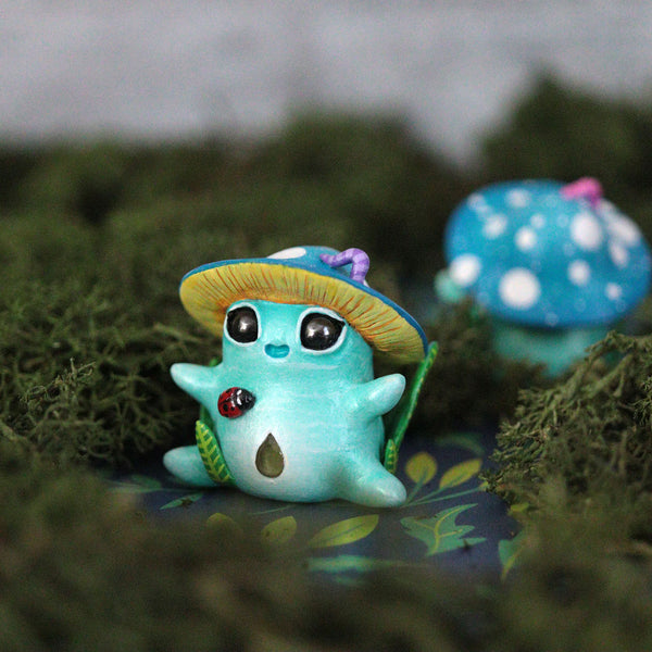 Blue Fungi 2 Figurine