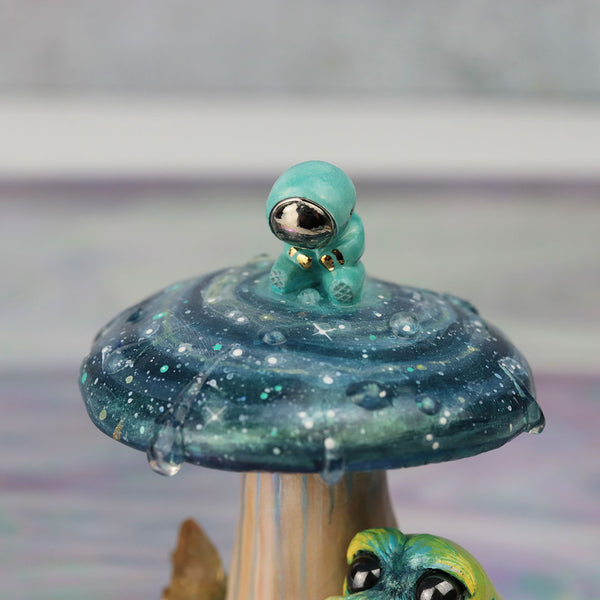 Astronaut in Wonderland Figurine