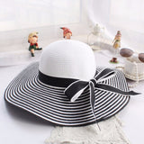 Beautiful Straw Hat - Summer Fashionista
