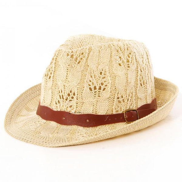 Retro Panama Hat - Summer Fashionista