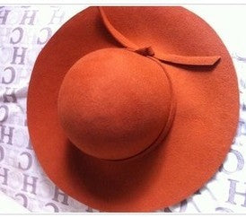 100% pure wool Oversized Sunhat - Summer Fashionista