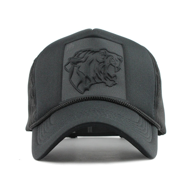 Black leopard Cap - Summer Fashionista