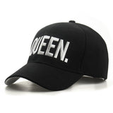 KING QUEEN Baseball Cap - Summer Fashionista