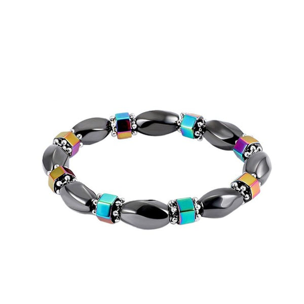 Black Stone Magnetic Weight Loss Therapy Bracelet - Summer Fashionista