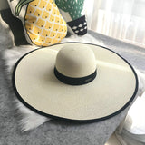 Fashion Straw Hat - Summer Fashionista