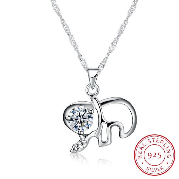 Mini Elephant Necklace - Summer Fashionista