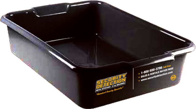 X-ray Large Item Inspection Tubs - 4 Pack - Security Detection