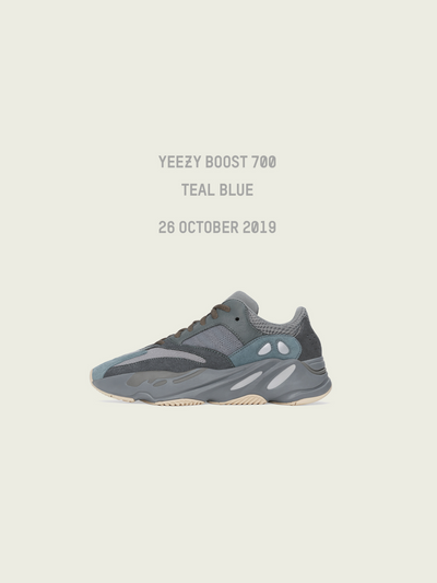 NEW DROP: YEEZY BOOST 700 TEAL BLUE