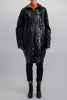 HAIDER ACKERMANN TECHNICAL COAT MAGNOLIA BLACK