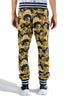 VERSACE PRINTED BAROQUE LOGO SWEATPANTS MULTICOLOR