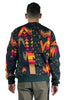 SACAI HWT/ARCHIVE PRINT MIX KNIT SWEATER