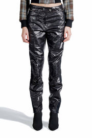 DRIES VAN NOTEN PELGRAVES PANTS BLACK