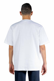 KOLOR GRAPHIC PRINT CREW NECK T-SHIRT WHITE