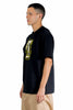 KOLOR GRAPHIC PRINT CREW NECK T-SHIRT BLACK