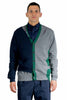 KOLOR CARDIGAN PURE CASHMERE NAVY X GRAY