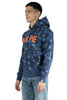 BAPE COLOR CAMO BAPE FULL ZIP HOODIE NAVY