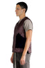 RICK OWENS QUILTED SNAP FRONT VEST