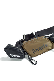 PALM ANGELS MIRROR CROSS BODY MILITARY MULTICOLOR
