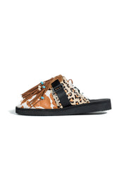 ALANUI ANIMAL PATCHWORK SUICOKE MULTICOLOR MULTICOLOR