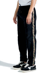 MAHARISHI LIBERTY DRAGON MA20 TRACKPANTS  BLACK