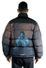 UNDERCOVER PRINTED PADDED JACKET