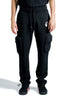 OFF WHITE MARKER CARGO SWEATPANT BLACK FUCHSIA