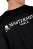 MASTERMIND WORLD LOGO RIBBON TEE BLACK