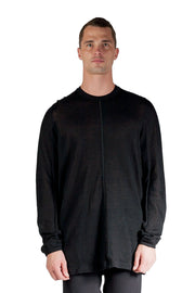 ACRONYM CASHLLAMA LONG SLEEVE SWEATER BLACK