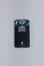 MARCELO BURLON CATCH THEM WINGS X CASE BLACK MULTICOLOR