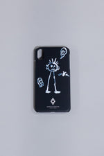 MARCELO BURLON KID SKETCH XS MAX CASE BLACK WHITE