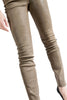 HAIDER ACKERMANN LEATHER LEGGINGS ARIZONA JAVA